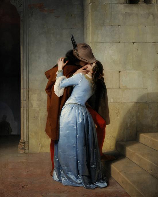 The Kiss Francesco Hayes, 1859